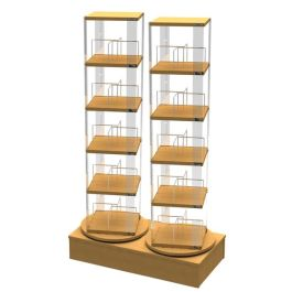 Library Double Book Spinner