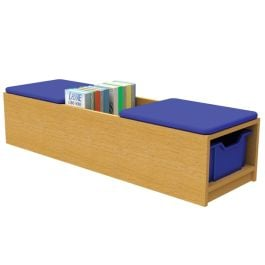 Book Seat Kinder Box Storage Unit