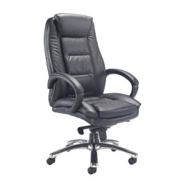 Montana Leather High Back Managers Chair