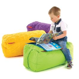 2 Seater Indoor or Outdoor Quilted Bench Bean Bag - Set of 6
