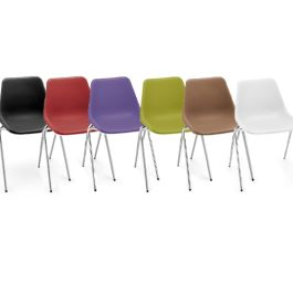 Hille Robin Day Polyside Chair