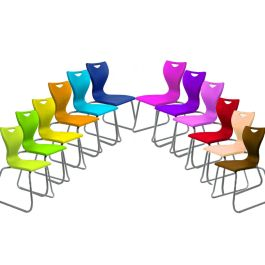 Remploy EN40 Classic Skid Base Classroom Chairs