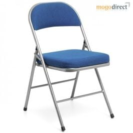Comfort Deluxe Metal Folding Chair
