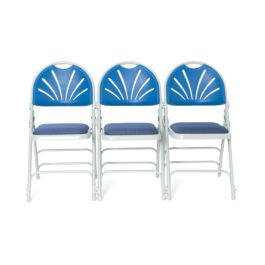 Mogo Comfort Plus Padded Seat Folding Chair