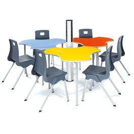 Metalliform Connect Modular Classroom Table