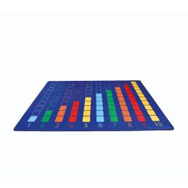 Early Years Counting Colour Grid Large Rug