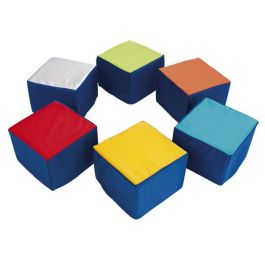 Children's Cube Soft Seating - Pack of 6