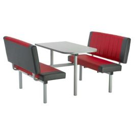 Tonbridge Upholstered Bench Style Fast Food Unit