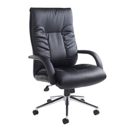 Derby High Back Faux Leather Executive Chair