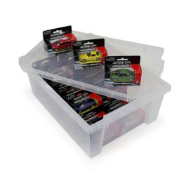 25 Die Cast Cars Set with Tray and Lid
