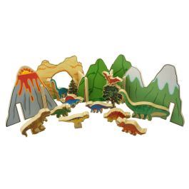 Happy Architect Wooden Dinosaur Play Set