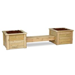 Early Years Outdoor Planter and Bench Combo