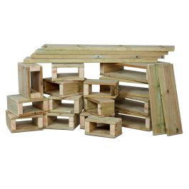 Early Years Outdoor Building Block Set - 22 Pieces