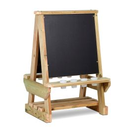 Early Years Outdoor 2 Sided Chalkboard Easel