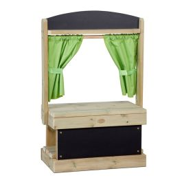 Early Years Outdoor Shop Theatre with Chalkboard