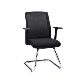 Denali Visitor and Reception Chair - Black Mesh
