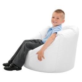 White UV Reflective Sensory Bean Bag