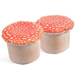 Learn About Nature Large Toad Stools - Pack of 2