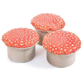 Learn About Nature Toad Stools - Pack of 3