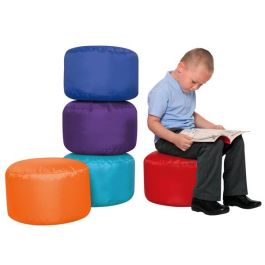 School Seat Pod Bean Bags - Pack of 5 (Brights)