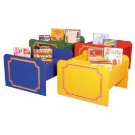 Children's Timber Routered Library Kinderbox