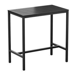 EKO Rectangular Recycled Poseur Table
