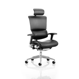 Ergo-Dynamic Bonded Leather Executive Posture Chair