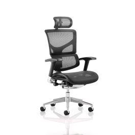 Ergo-Dynamic Mesh Posture Chair - Assembled