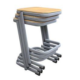 Form Cantilever School Lab Stool