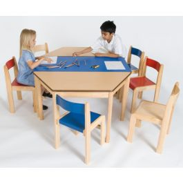 Tuf Class Rectangular Wooden Classroom Table
