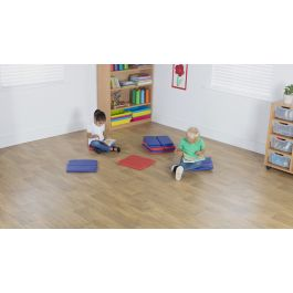 Early Years Indoor and Outdoor Folding Floor Mats - Pack of 10