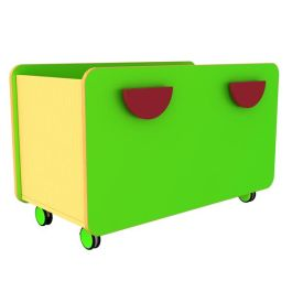 Funky Double Pull-Out Browser Storage Unit