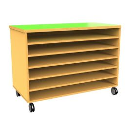 Funky Mobile Paper Storage Unit