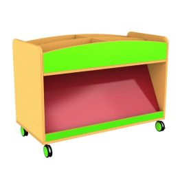 Funky Mobile Children's Book Display and Storage Unit