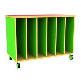 Funky Mobile Children's Big Book Storage Unit