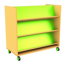 Edge Children's Double Sided Book Trolley