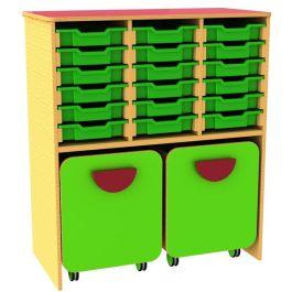 Funky 18 Tray Storage Docking Unit