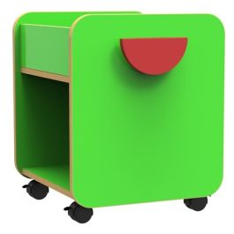 Funky Single Pull-Out Book Browser Unit