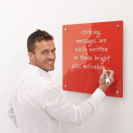 WriteOn Coloured Glassboard