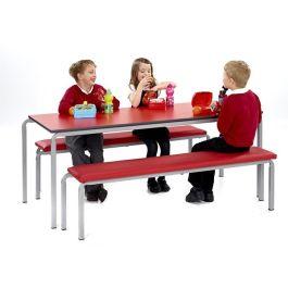 Gala School Bistro Table & Bench Set
