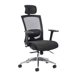 Gemini 300 Series Mesh Task Chair With Adjustable Arms And Headrest