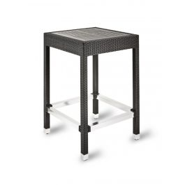 IZZI Outdoor Wicker Weave No Wood Poseur Table