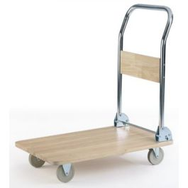 Wooden Deck Platform Trolley