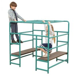 Children's Playground Climbing Frame - Cube