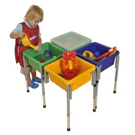 Sand & Water Play Tub Set (4 Station)
