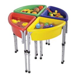 Sand and Water Play Tub Set of 4