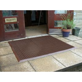 Outdoor Gridmaster Edged Mat