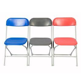 Zlite Straight Back Folding Chair