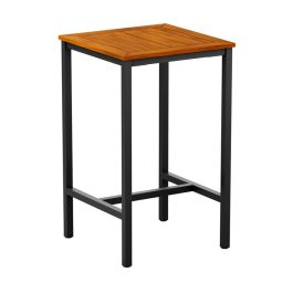 ICE Outdoor Industrial Style Bar Table - Square 800mm