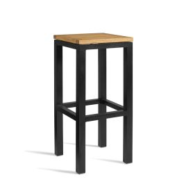 ICE Outdoor Industrial Style High Bar Stool